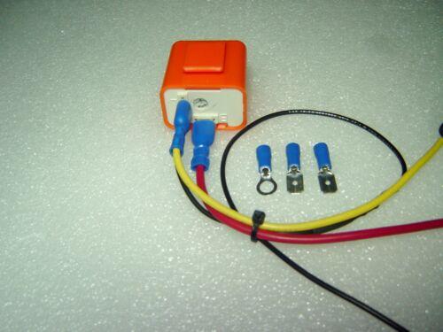 FREE SHIPPING 12V Adj Flash Rate Electronic LED Flasher Relay