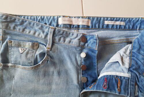 Guess Straight Slim Denim Homme Jeans modèle R65wZWxg