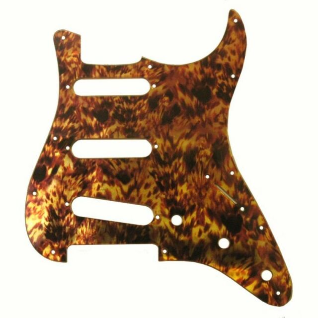 NEW!!! Faux IRIDESCENT Tortoise Pickguard fits 11hole USA Strat Stratocaster
