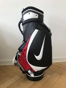 Nike-Golf-Tour-Staff-Bag-2015-Rare-Edition-Collectors-Tiger-Woods-Top