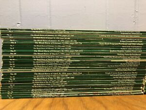1994 The Blood-Horse Magazine - Complete Subscription Year (53 Item Lot)