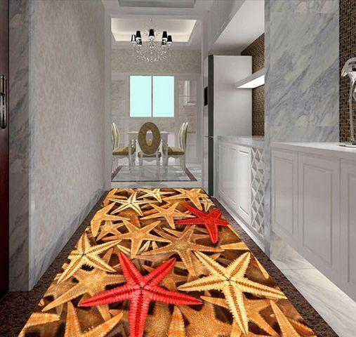 3D prodotti marini Pavimento Foto Wallpaper Murales Muro Stampa Decalcomania
