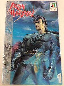 Iron-Marshal-1-July-1990-includes-bound-in-poster-Jademan-Comics