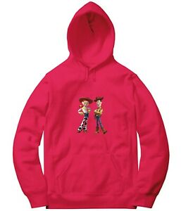 Details zu Disney Toy Story Woody & Jessie Stand Up Long Sweatshirt Jacket Pullover Hoodies