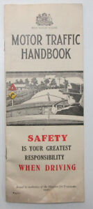 1940-old-vintage-New-South-Wales-Motor-Traffic-Handbook