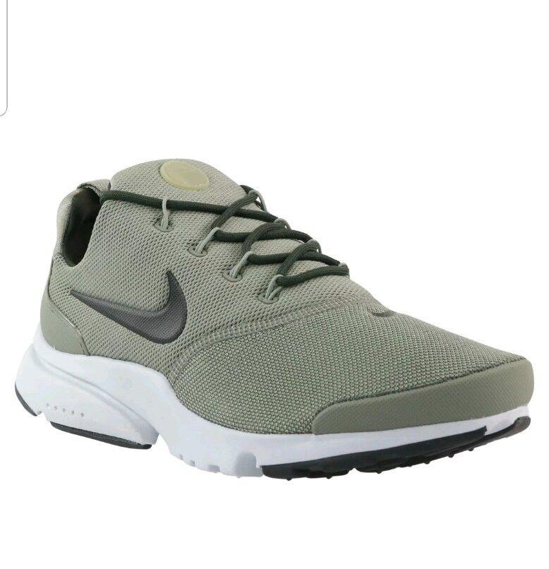 Nike kaki Presto Fly Baskets vert kaki Nike Taille 8.5 EU 43 Baskets 908018 011- 12def9