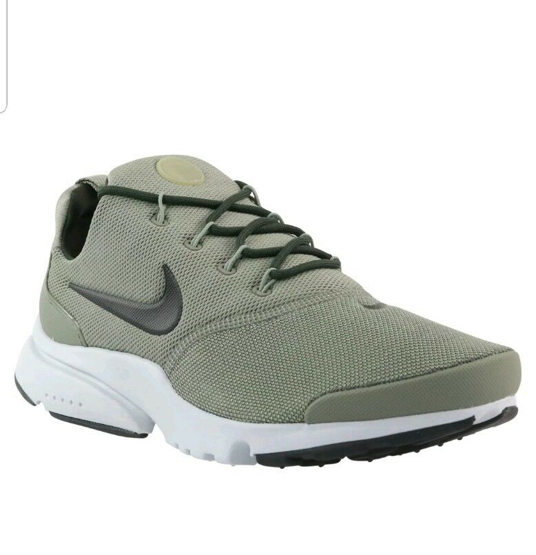 nike presto fly trainers khaki green Taille 8.5 eu 43 trainers Shoes 908018 011