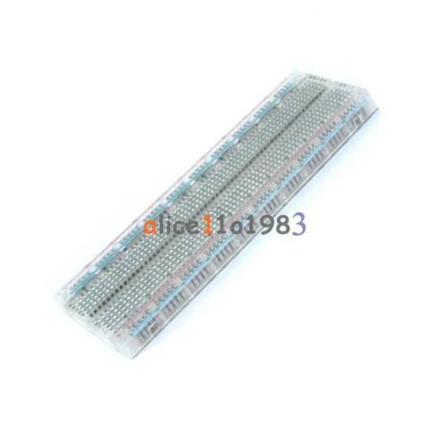 New Solderless MB-102 MB102 Breadboard 830 Tie Point  PCB BreadBoard For Arduino