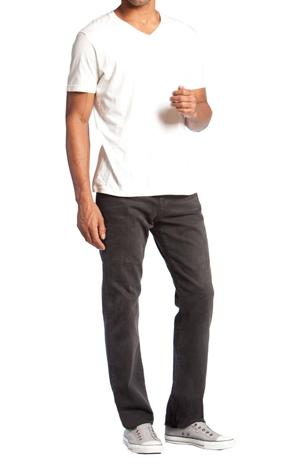 Mavi Matt Relaxed Straight Leg Jeans Distressed Comfort Stretch-- NWT