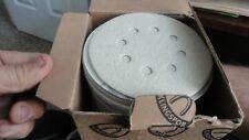 100 Klingspor 5 Sanding Disc Pn 033k080c 12700a 8 Holes 80grit Free Priority
