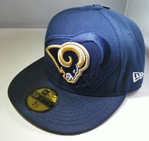 Los Angeles Rams Blue New Era NFL 2016 Sideline 59FIFTY Fitted Hat Cap