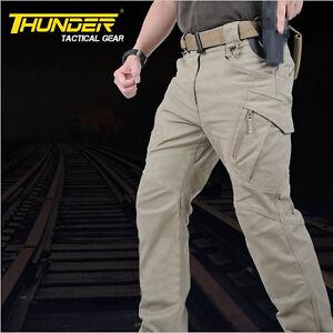 Urban Tactical Cargo Pants IX9 SWAT Army Trousers Men Military ...