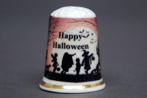 Happy Halloween Party China Thimble B//142