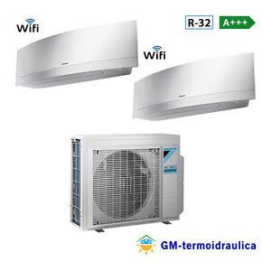 Condizionatore-Daikin-Dual-Split-Inverter-Emura-White-9-12-9000-12000-Btu-2MXM50