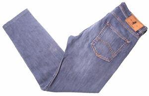 Marlboro-Classics-Herren-Jeans-w29-l28-blau-Baumwolle-Slim-ni15