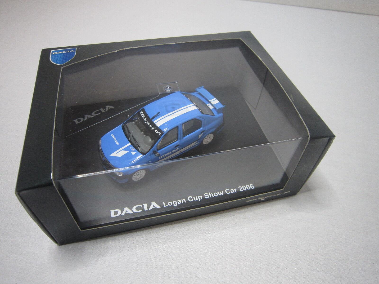 Dv6852 eligor 1 43 dacia logan cup show car 2006 ref 7711420096 etat neuf