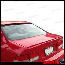 COMBO Spoilers (Fits: Honda Civic 1996-00 2dr) Rear Roof Wing & Trunk Lip
