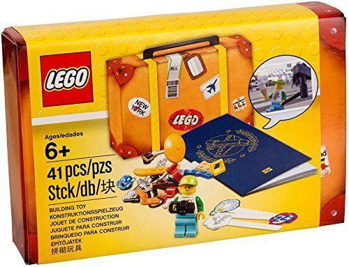 LEGO Travel Building Suitcase 5004932 - 41 Pcs [building Toy Passport Build Kit]