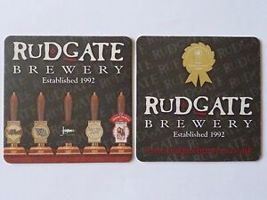 Rudgate Brewery Beermat Coaster - Newcastle upon Tyne, United Kingdom - Rudgate Brewery Beermat Coaster - Newcastle upon Tyne, United Kingdom