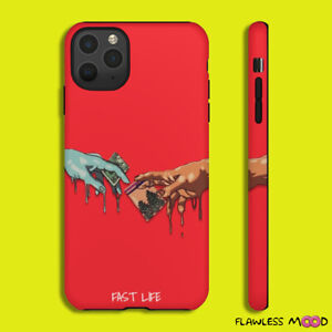 Case For Iphone 11 Pro MAX X S 8 Fast Life Background ...
