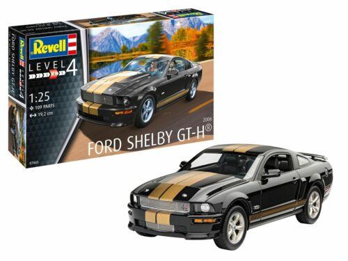 REVELL 1:25 07666 2006 Ford Shelby GT-H Model Kit Voiture