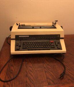 Adler-SE-1000-CD-Vintage-Electric-Golf-Ball-Typewriter-Made-in-1978-W-Germany