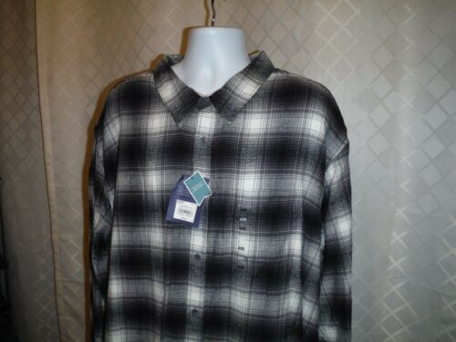 Big /& Tall Men;s Flannel Shirts Sonoma /& Croft /& Barrow Multi Plaid 100/% cotton