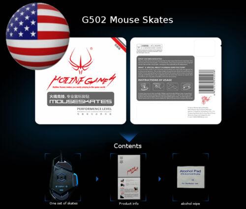 Skates 0.6mm  Hotline Gaming i-rock IM3-WE Mouse Feet
