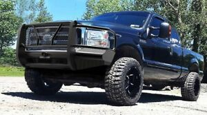 New-Ranch-Style-Front-Bumper-99-01-02-03-04-05-06-07-Ford-F250-F350-Super-Duty
