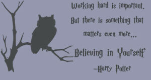Wall-Stickers-Harry-Potter-owl-believing-in-yourself-vinyl-decal-decor-Nursery