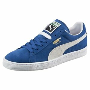 Image is loading Puma-Suede-Classic-Olympian-Blue-352634-64-Men-