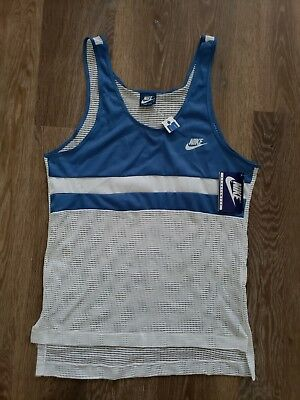 Nike tank top made in USA blue tag