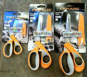 Fiskars Ciseaux Razoredge Soft Grip Ultra Sharp 3 Tailles Disponibles-afficher Le Titre D'origine Circulation Sanguine Tonifiante Et Douleurs D'ArrêT