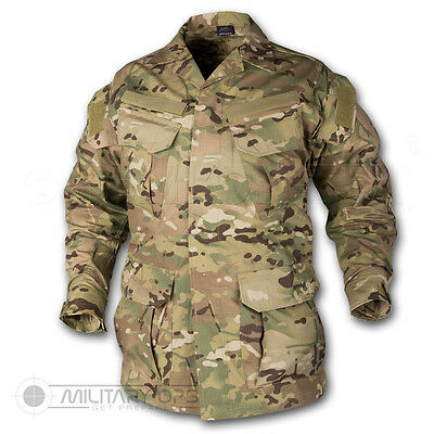 HELIKON TEX SFU SHIRT BDU US ARMY SPECIAL FORCES UNIFORM COMBAT MULTICAM MTP