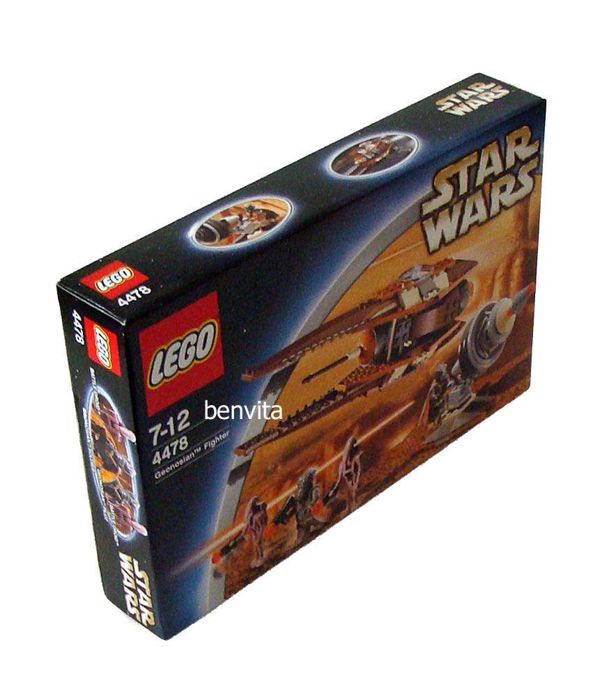 Lego® Star Wars 4478 - Geonosian Fighter 7-12 Jahren 169 Teile - Neu