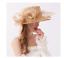 Cappello-da-cerimonia-elegante-e-di-classe-diametro-grande-57cm miniatura 1