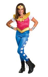 Rubie-039-s-DC-Superhero-TV-Series-Wonder-Woman-Childs-Girls-Fancy-Dress-Costume