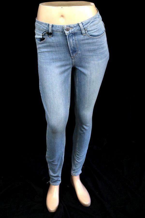 NEW womens light wash bluee PAIGE JEANS hoxton ankle denim jeans stretch 26
