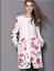 de dames laine Vogue de de de trench cachemire par long brodé mélange veste de de Manteau 4qn6wOT7