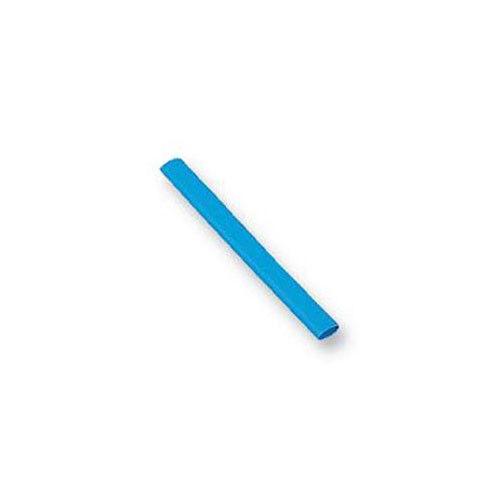 Heat Shrink Tubing 2:1 Ratio BLUE 6.4mm 1m per metre