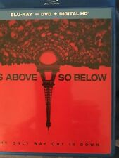 As Above So Below Dvd and digital copy  different case  no blu-ray