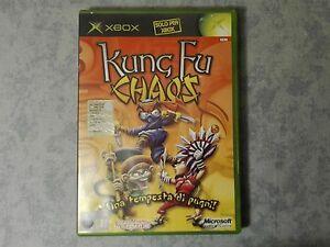 KUNG-FU-CHAOS-MICROSOFT-XBOX-ORIGINALE-CLASSIC-PAL-ITA-ITALIANO-COMPLETO