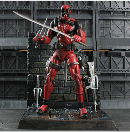 """7/"""" Marvel Select Deadpool Action Figure Figurine Statue Boxed Collectors Edition"""