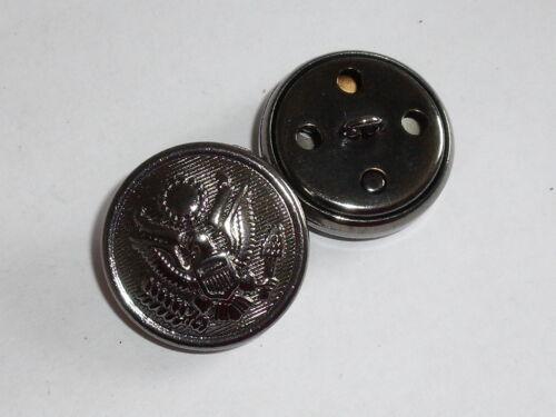 Botón de metal botón emblema botón de 24 mm de mercancía nueva de antracita inoxidable #999.2#