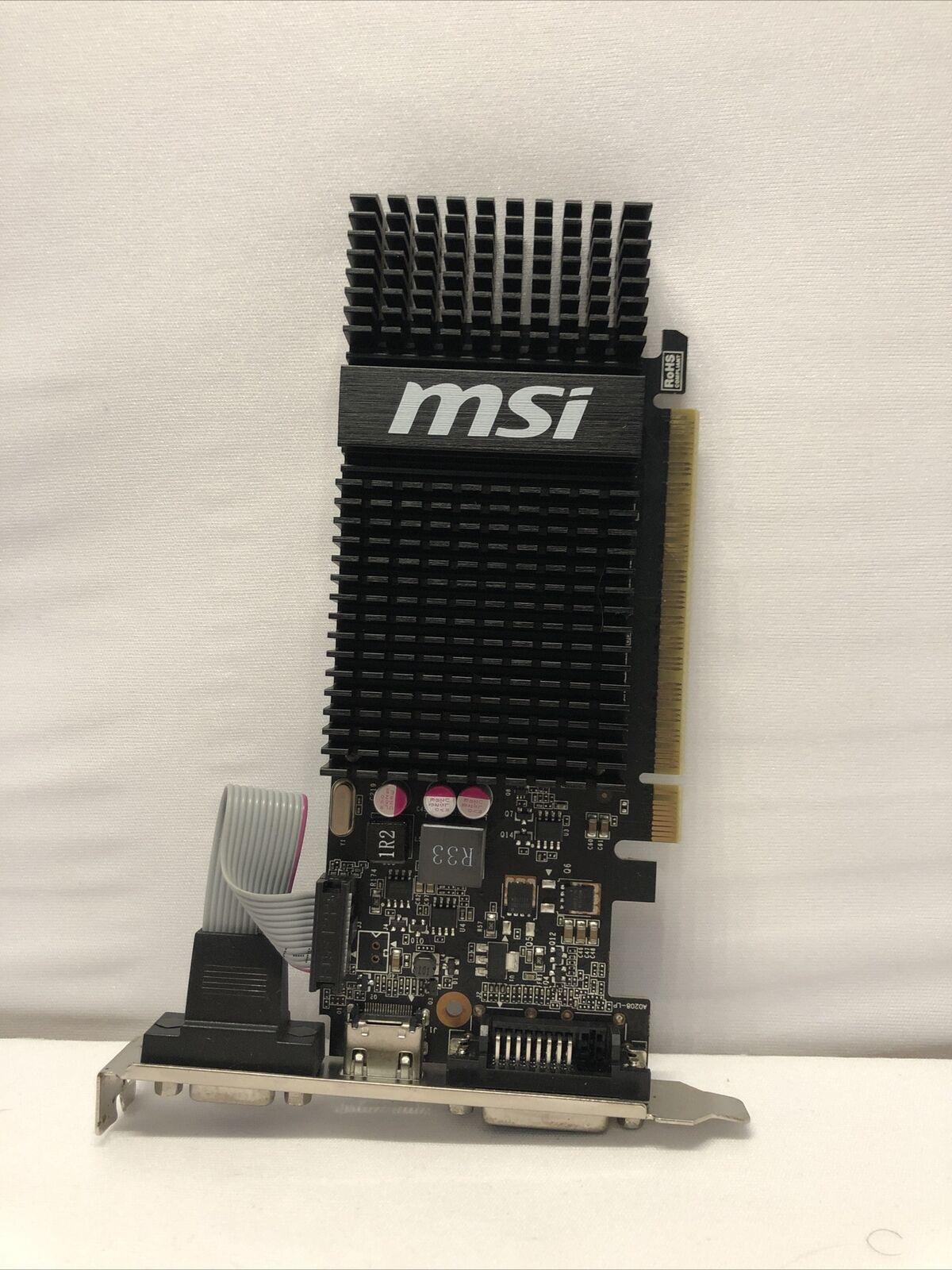 *MSI N720-1GD3HLP graphics card GeForce GT 720 1 GB GDDR3 UNTESTED!
