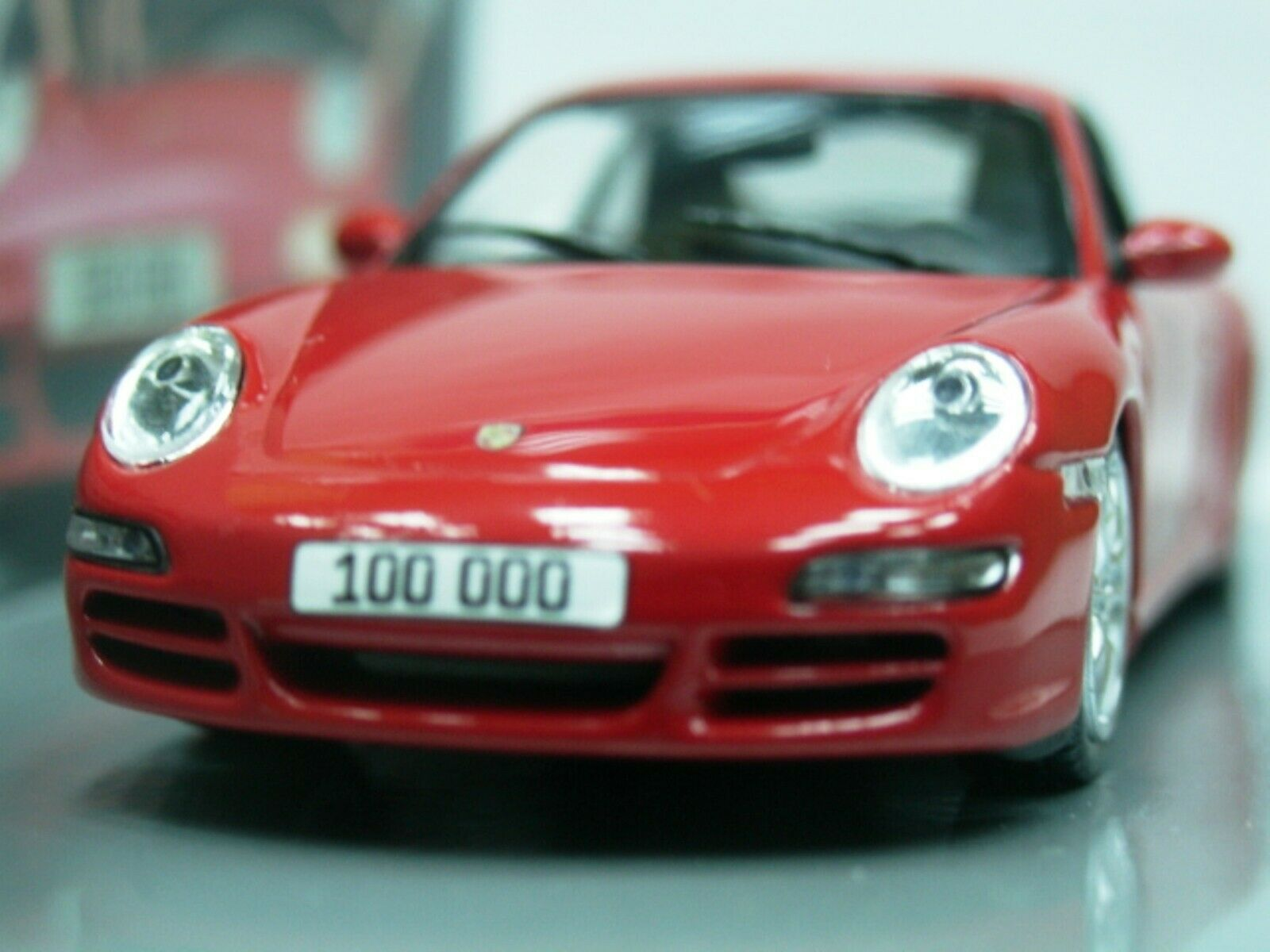 WOW EXTREMELY RARE Porsche 997 911 2007 Carrera S Red 1 43 Minichamps-GT2-Spark