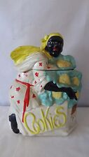 McCoy Pottery Vintage 1939 Mammy with Cauliflower Cookie Jar #H942.