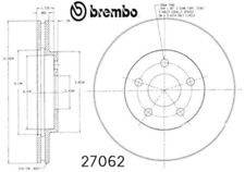 Satz 2 Stück BREMBO Bremsscheiben 09.7367.14 vorne
