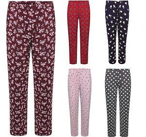 Ladies-EX-M-amp-S-Pyjama-Bottoms-Pants-Loungewear-Pyjamas-8-Colours-Size-8-22-BNWOT