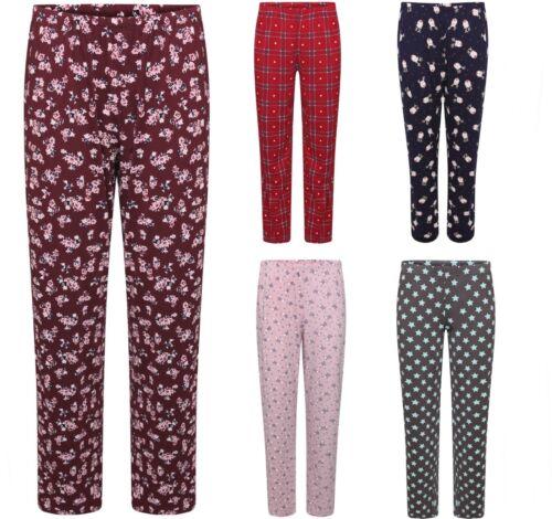 Ladies Famous Store Pyjama Bottoms Pants Loungewear Pyjamas 8 Colours Size 8-22